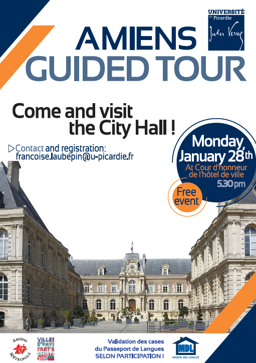 Amiens Guided Tour