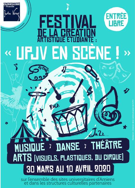 Festival de la création artistique étudiante :
