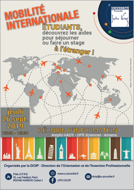 Affiche mobilité internationale