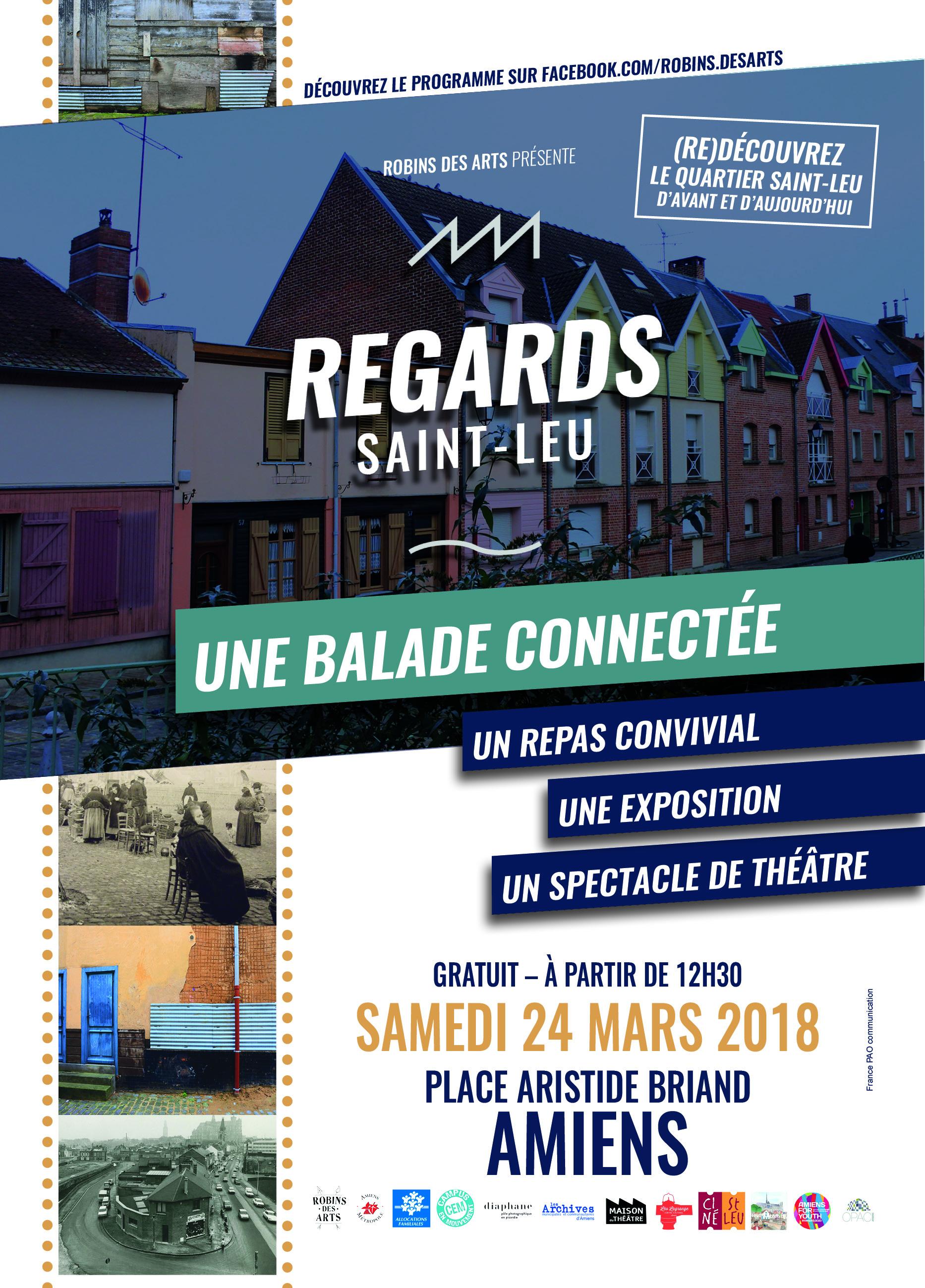 Regards Saint-Leu Affiche